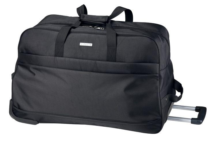 d&n d & n Reisetasche mit Rollen- 5615 schwarz