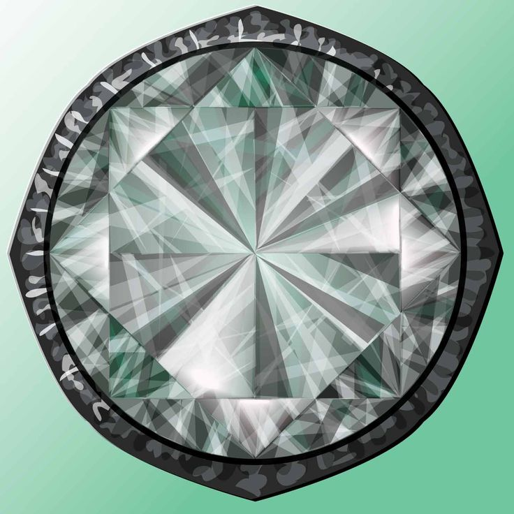 Diamond made in Illustrator by Kerstin Petersson.
