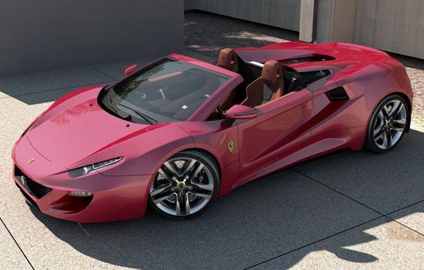 Ferrari TF12 - Concept Car by Aldo H. Schurmann