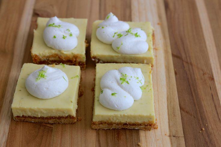 Lime Bars - Thursday Night Baking