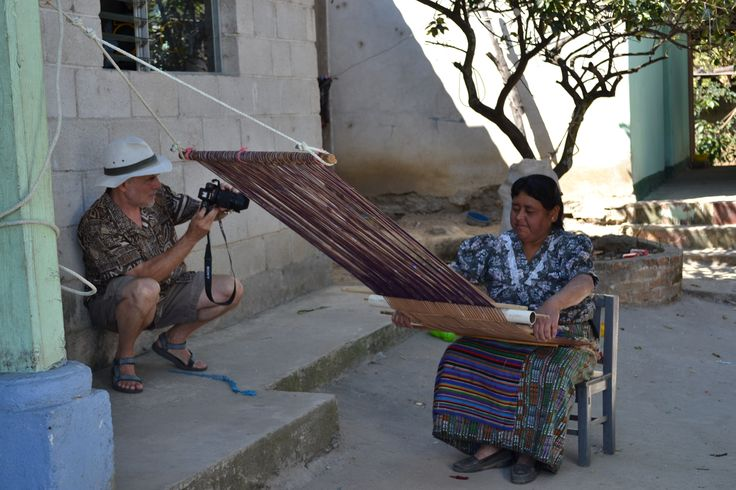 Photo shoot with the Artesania Maya Cooperative. Capturing the story.