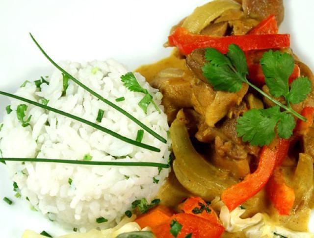Fragrant Thai Massaman Chicken Curry