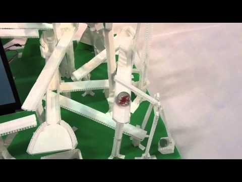 拡張現実ピタゴラ装置2012 - YouTube