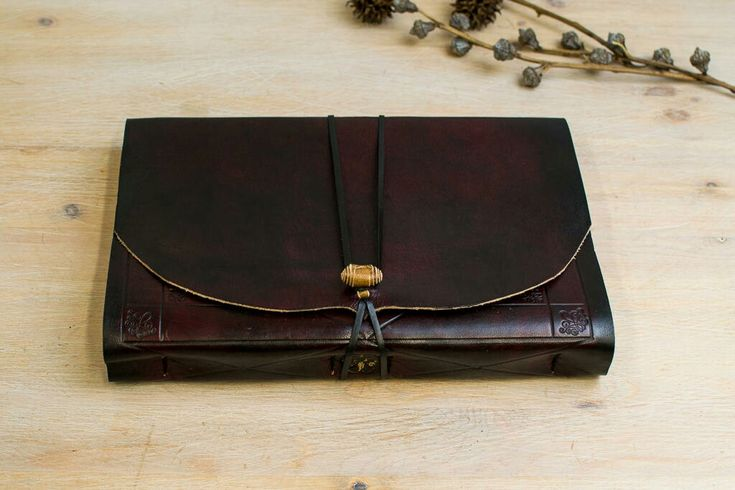 Red Burgundy Notebook, like a Dark Wine, Tuscany Theme...