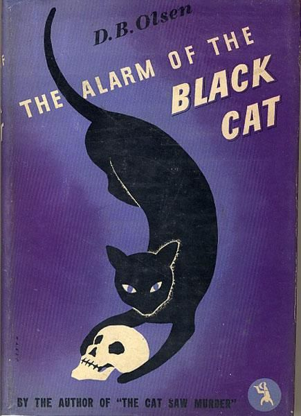 The Alarm of the Black Cat cover, 1942