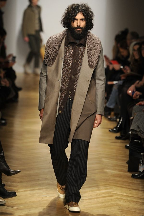 The Missoni Fall/Winter 2014 Menswear Look on trendhunter.com