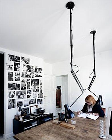 funky bedroom lighting. interesting idea for task lighting we do multitasking in our dining room so funky bedroom s