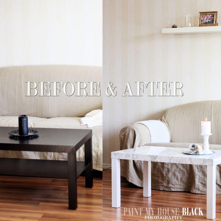 Renovated coffee table! Read the blogpost at: http://paintmyhouseblack.blogspot.fi/2015/04/uusittu-sohvapoyta-renovated-coffee.html