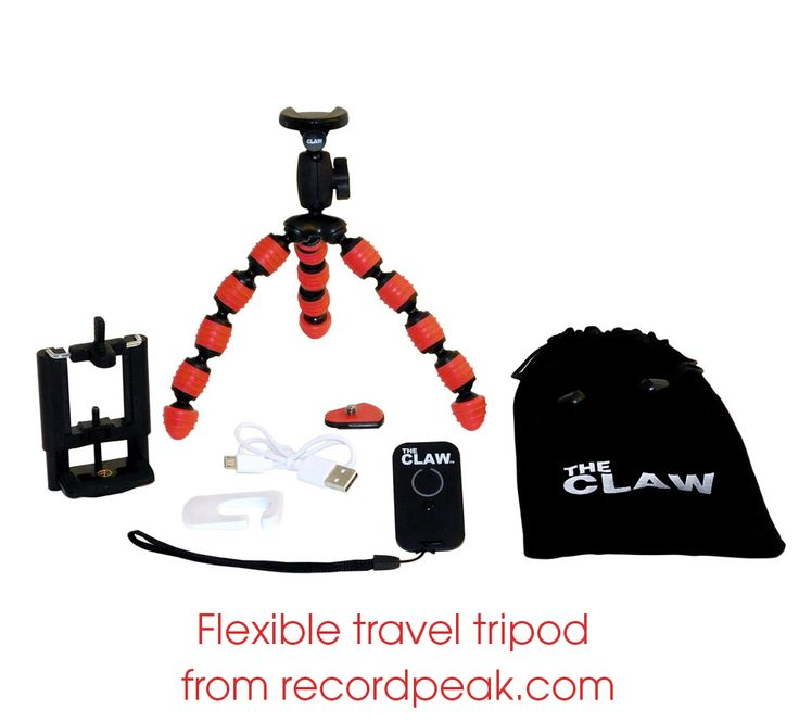 deb1d28f63401 The Claw Flexible travel tripod from record peak designs on sale from  34.95  to  29.95