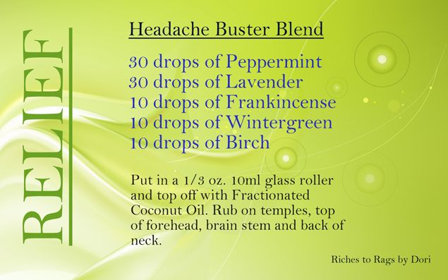 This Headache Blend has SAVED me on a number of occasions! I definitely recommend giving it a try if you suffer from occasional headaches.