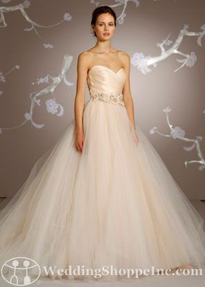 Bridal Gowns Lazaro LZ3108 Bridal Gown Image 1