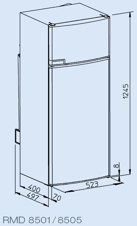 Fridges Dimensions Rmd8501sizeslrg Ideal In 2019