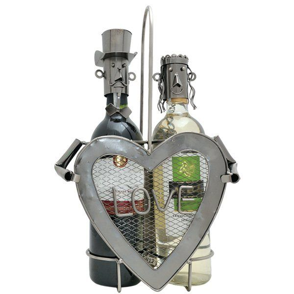 Stojan na víno Zamilovaný pár
