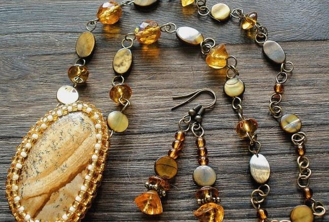 Sahara - náhrdelník