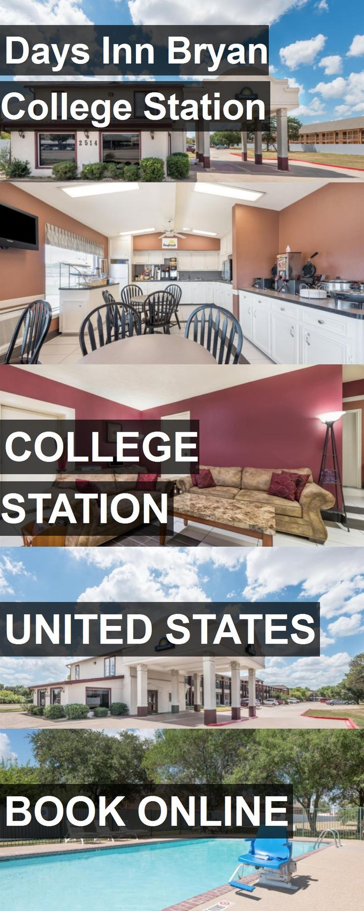 Hotel Days Inn Bryan College Station in College Station, United States. For more information, photos, reviews and best prices please follow the link. #UnitedStates #CollegeStation #travel #vacation #hotel