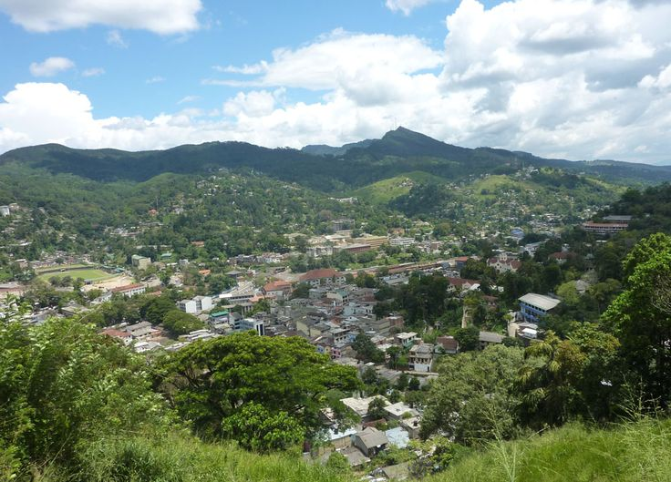Kandy City View Point in the Cultural Capital of Kandy in South Sri Lanka. Check our blog for full story of our South Sri Lanka Tour and Guide for Independent Travel in Southeast Asia. Here: http://live-less-ordinary.com/southeast-asia-travel/south-sri-lanka-tour-independent-travel