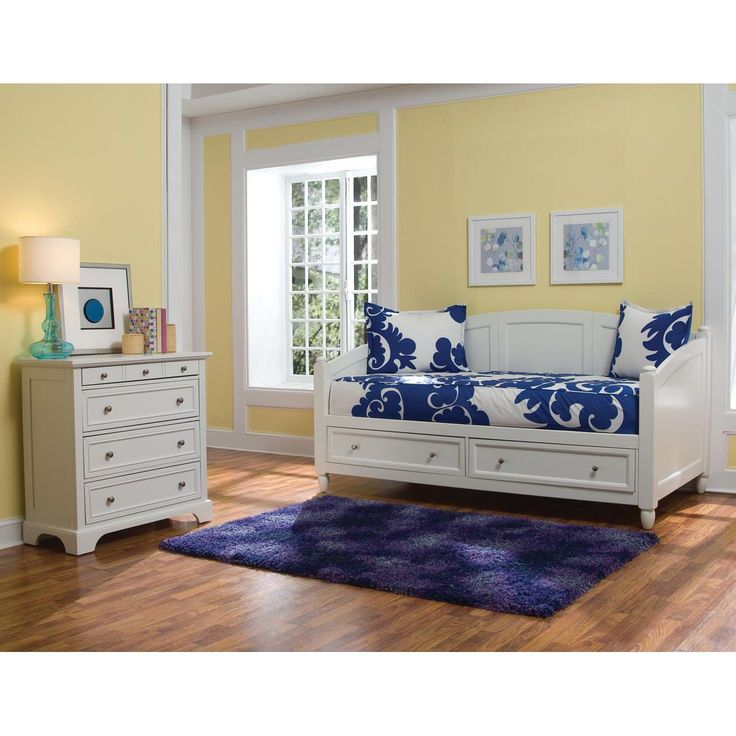 Naples White Daybed And Chest By Home Styles By Home Styles Bedroom Chestbedroom Furniture
