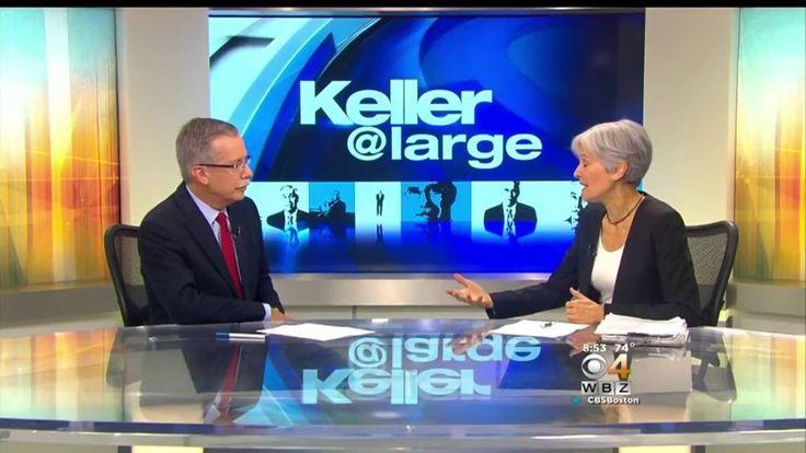 Jill Stein Interviw with Jon Keller WBZ CBS Boston