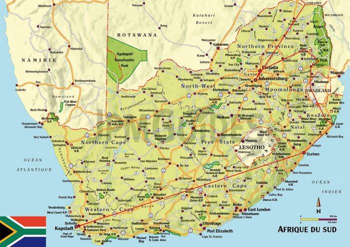 South Africa - Swaziland - Zimbabwe