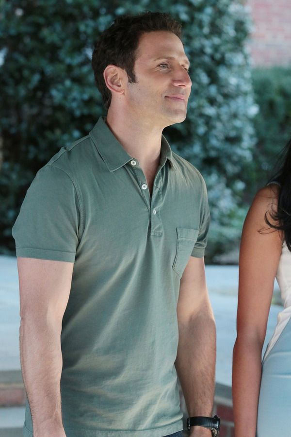 Dr. Hank Lawson wore a J.Crew Broken-In Pocket Polo in Vintage Sage on Royal Pains. Shop it: http://www.pradux.com/jcrew-broken-in-pocket-polo-vintage-sage-28461?q=s14