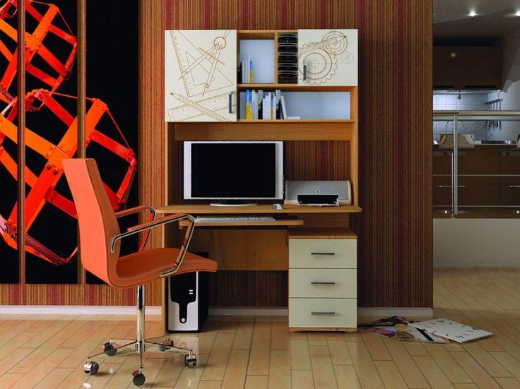 Компьютерный стол «Бэйсик Смарт» в интернет-магазине «Любимый Дом» - lubidom.ru #lubidom