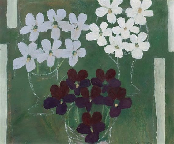 Six Violas by Mary Newcomb