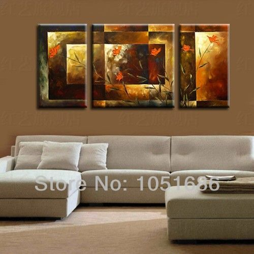 Cuadros abstractos modernos para dormitorios de mujer for Cuadros clasicos para sala