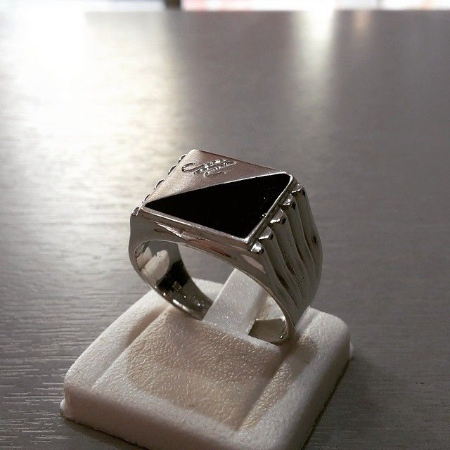 #Anello #uomo #argento #artigianale  #iniziale #man #ring #silver #handmade #jewels #goldsmith #artistic #fashion #Cross