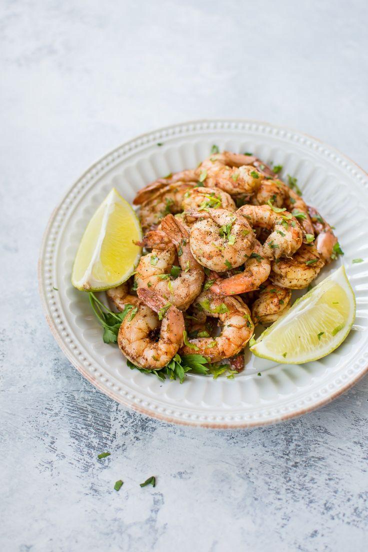 Baked Chili Lime Shrimp • Salt & Lavender