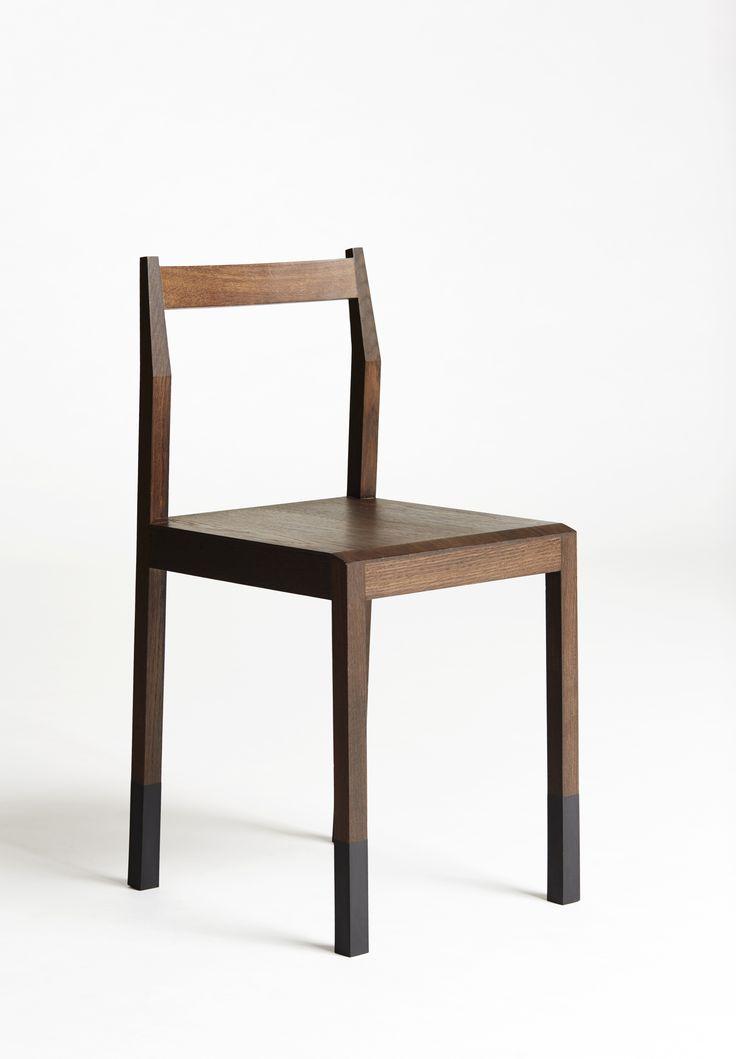Chair made of wood. #rubber #handmade #cabinetmaker http://www.kjeldtoft.com/