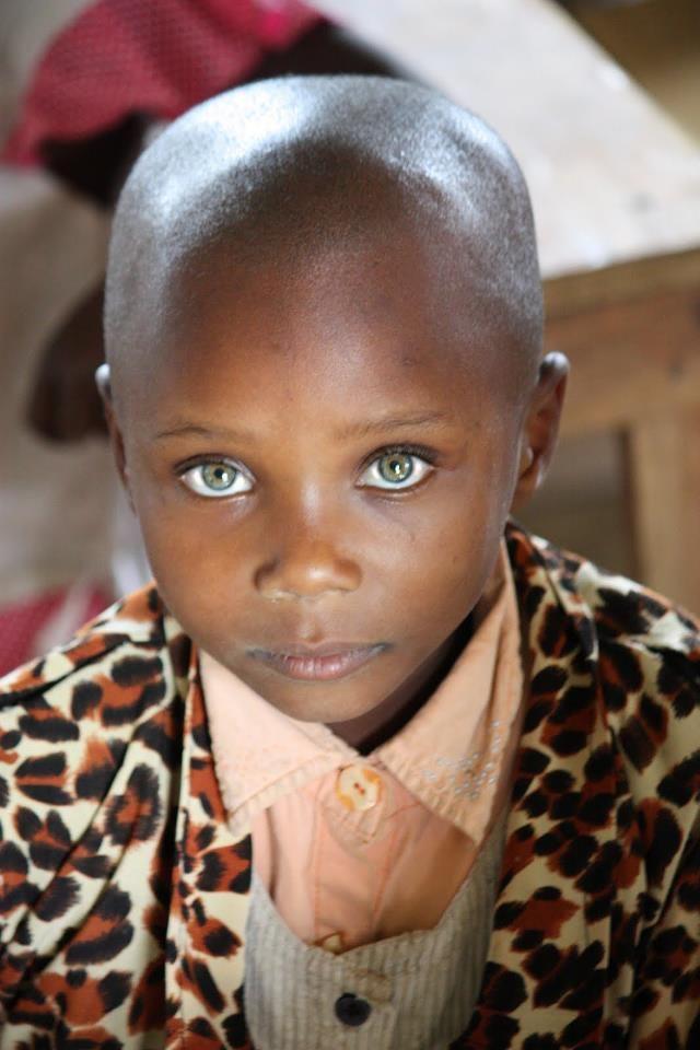 Intense stare from Kenyan boy