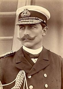 Wilhelm II (Kaiser Wilhelm II) Lived 1859 – 1941, was the last German Emperor (Kaiser) and King of Prussia, ruling the German Empire and the Kingdom of Prussia from 1888 to 1918. A grandson of Queen Victoria and first cousin of Empress Alexandra of Russia.  An ineffective war leader, he lost the support of the army, abdicated in November 1918, and fled to exile in the Netherlands.