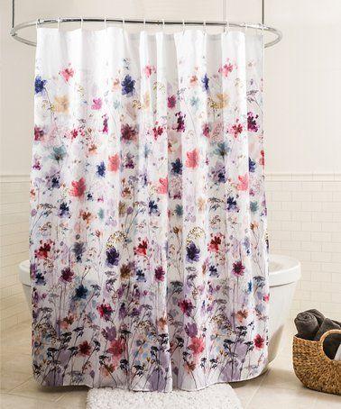 Love This Blue Purple Vera Shower Curtain On Zulily