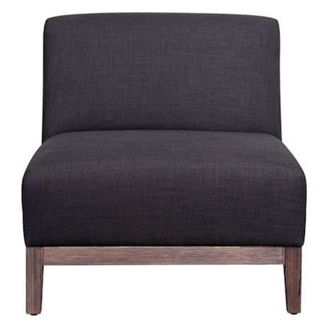 Butler Armless Armchair   Freedom Furniture and Homewares