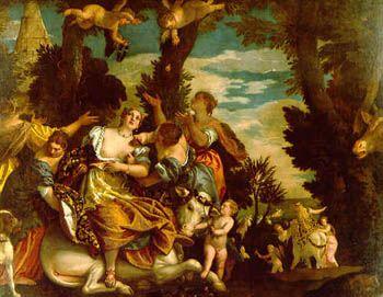 Il Ratto di Europa de Paolo Veronese c.a. 1580