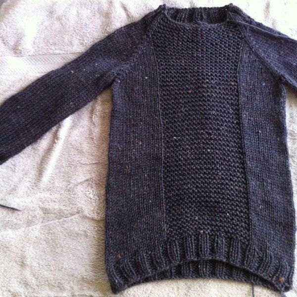 pattern: fisherman's pullover by veera valimaki  (must make one for e!)