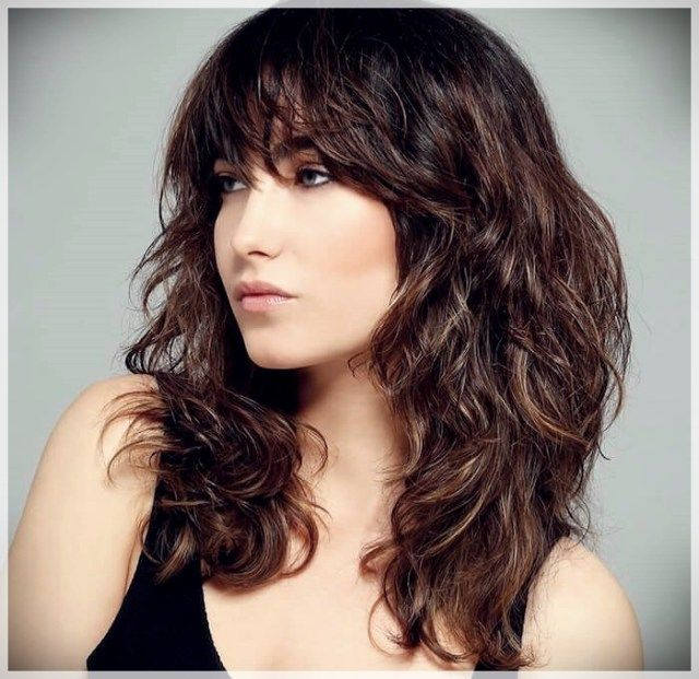 10++ Haircuts for wavy brown hair inspirations
