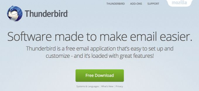 Mozilla Wants To Hive Off Its Thunderbird Email/Chat Client Says Mitchell Baker MemoThe Mozilla Foundation looks like its about to take another step in its bid to sharpen its focus on its Firefox browser and continue with its fightback to gain more market share against competitors like Google Chrome. According to a company-wide memo penned today by chairperson Mitchell Baker (and confirmed by Mozillato be from her) Mozillawants toonce and for all hive off Read More