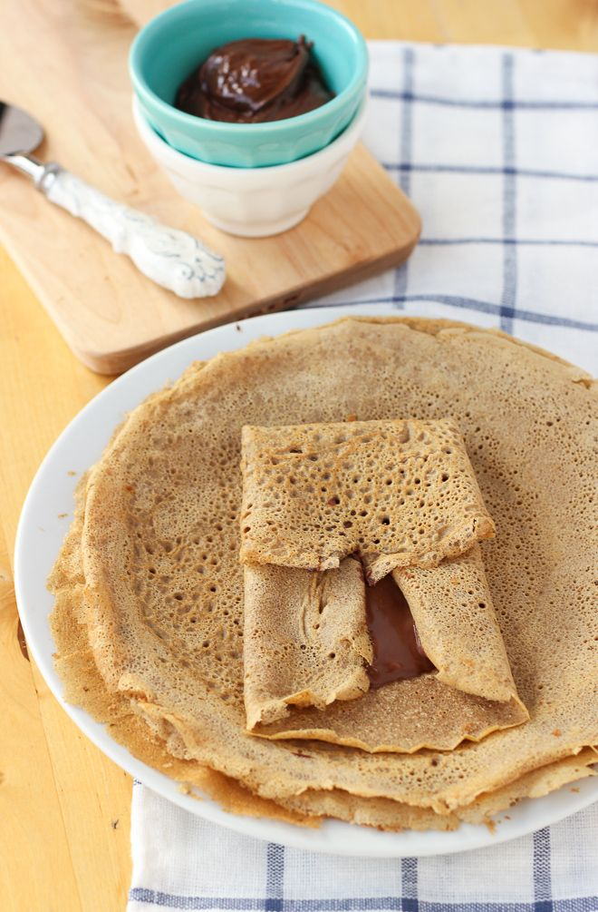 Buckwheat Blender Crepes {Gluten-Free, Dairy-Free} | Meaningful Eats