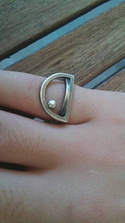 Custom silver  925 ring reserved for Lawren