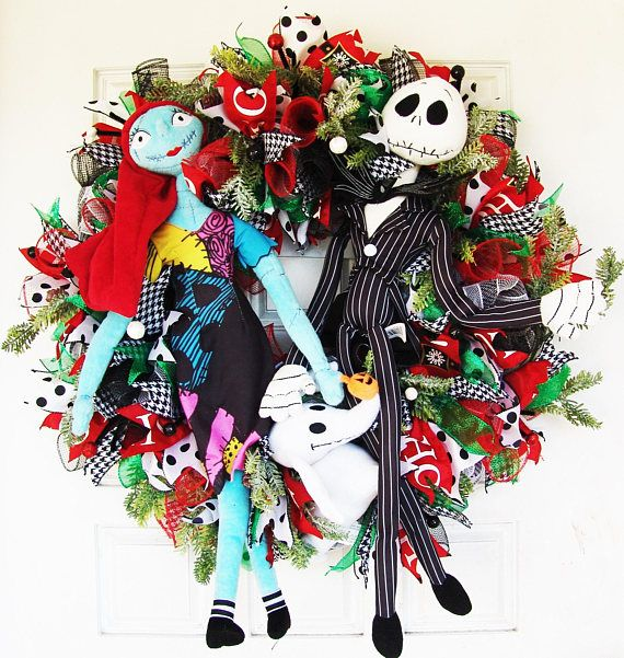 Check out this item in my Etsy shop https://www.etsy.com/listing/571293867/christmas-jack-skellington-sally-zero