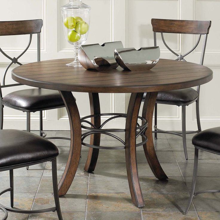 Have to have it. Hillsdale Cameron 5 pc. Round Wood Dining Table Set with X-Back Chairs $899.00