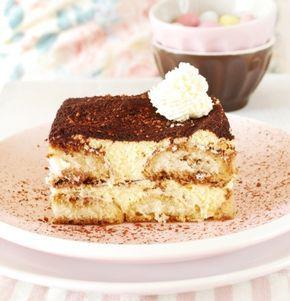Tarta Tiramisú, receta original y muy fácil