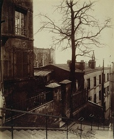 Eugene Atget, Staircase Montmartre, 1924Atget French, Montmartre Getty, French Photographers, Eugène Atget, Getty Museums, Atget Paris, Paris Black, Eugene Atgetstaircas, Montmartre Paris