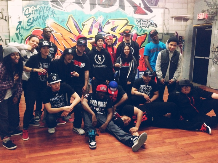 Tha block (NY) X buccnflvr X northbuck. Late night krump sesh! Shout outs to NY krumpers for coming down all the way to Toronto. #krumpculture