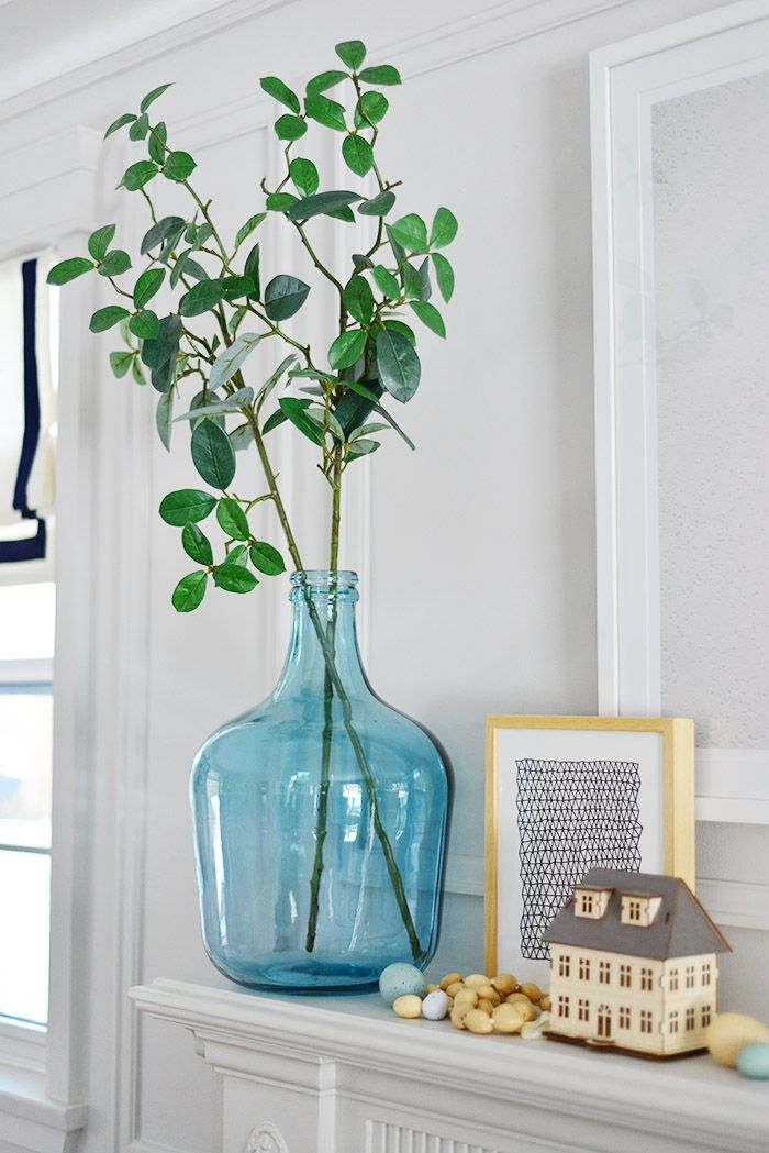 Fireplace Mantel Decor Ideas For Spring In 2019 Fireplace