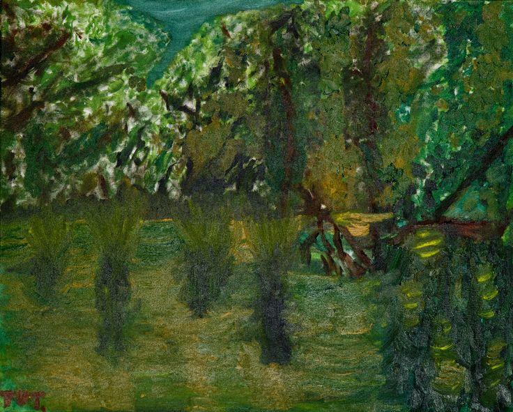 Wojciech Tut Chechliński, Jamajka II, olej na płótnie, 65 x 81 cm, 2009 r, sygnowany (kat. 041)