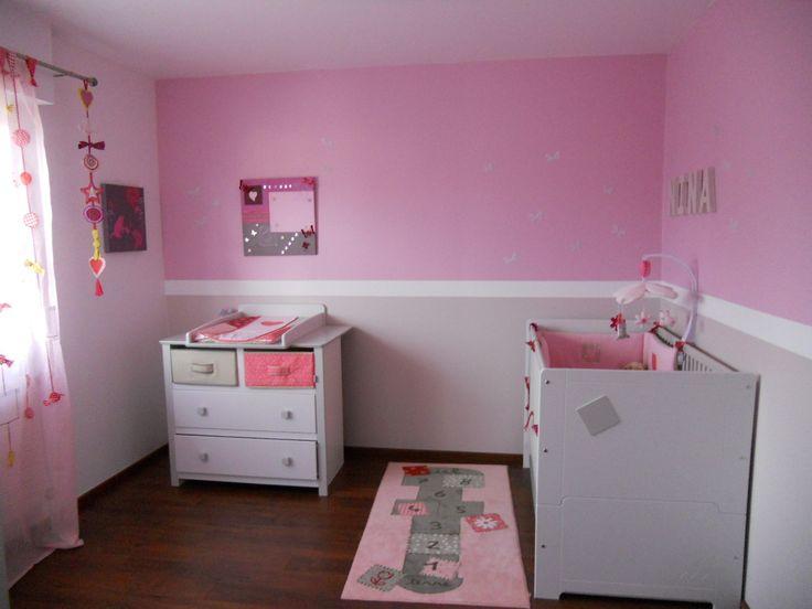 peinture chambre petite fille