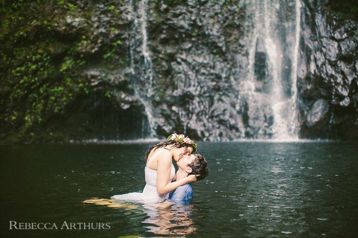 maui waterfall wedding maui waterfall wedding rebecca arthurs photography 0046jpg getting mauid pinterest weddings wedding and elopements