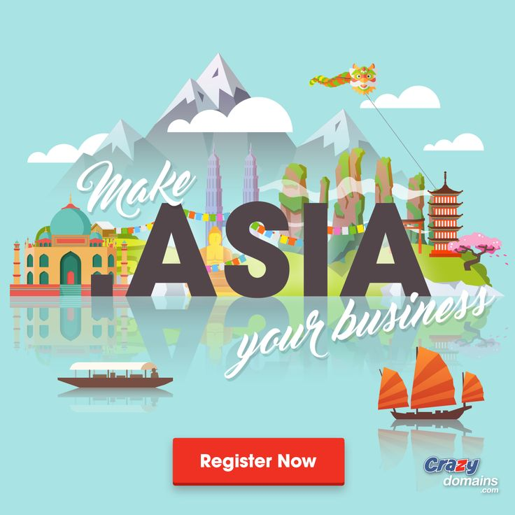 .ASIA is the domain name for Asia that allows you to connect with over 70 countries instantly. Get yours now!